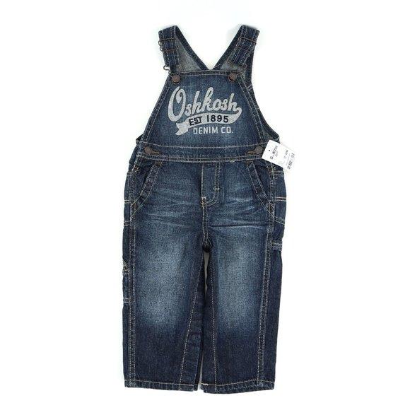 OSHKOSH overalls, size 12-18M
